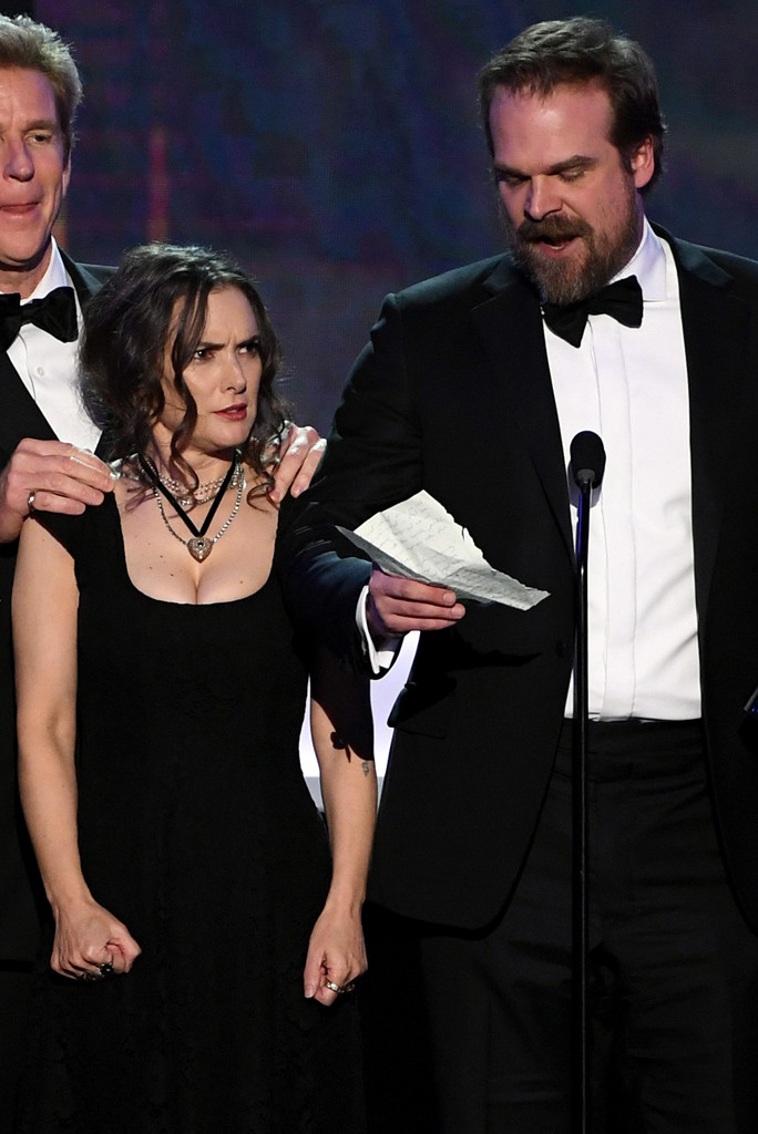 Winona Ryder, Stranger Things, 2017 SAG Awards, Winners