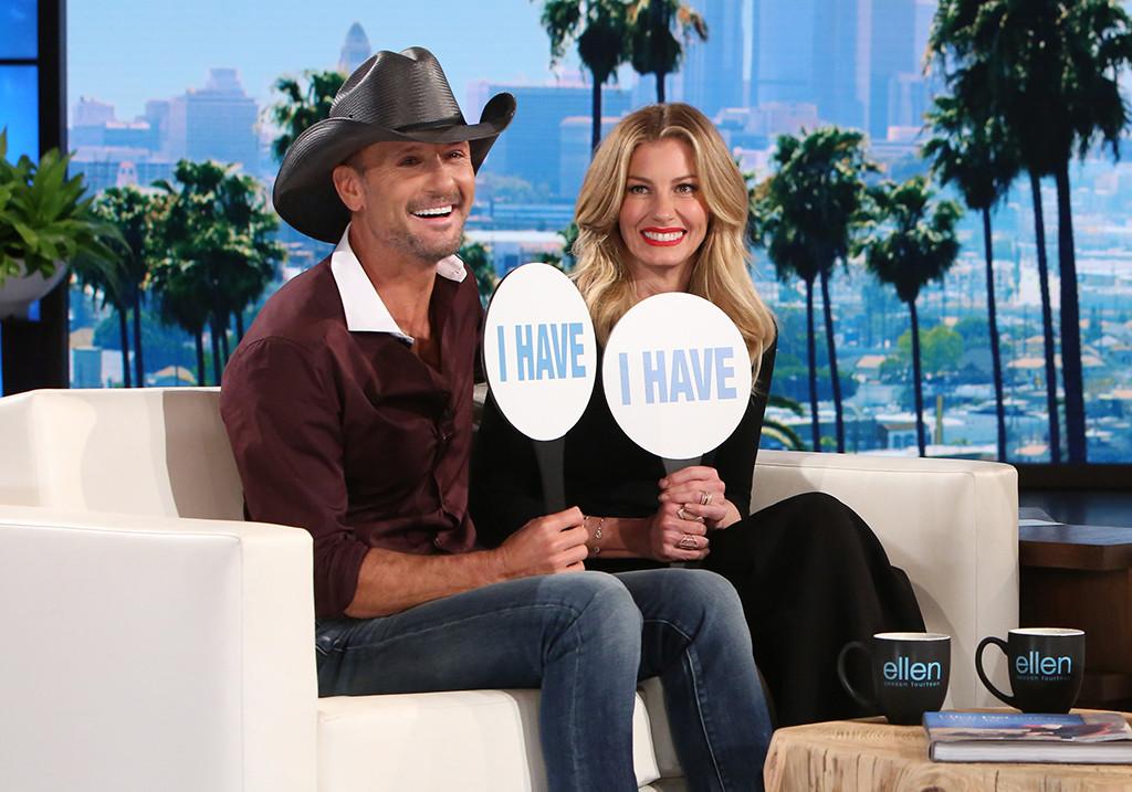 Faith Hill, Tim McGraw, The Ellen DeGeneres Show