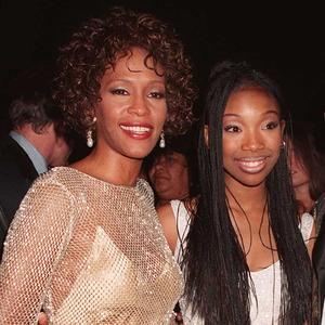 Whitney Houston, Brandy Norwood, Bobby Brown