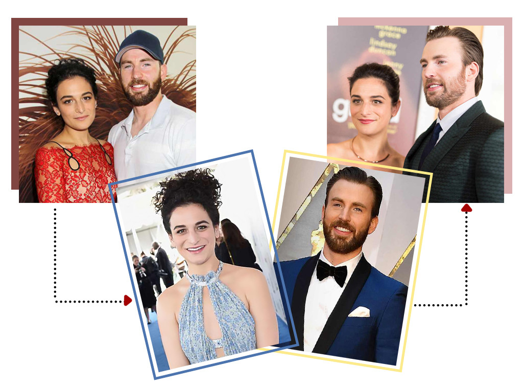 Young Hollywood Dating, Jenny Slate, Chris Evans