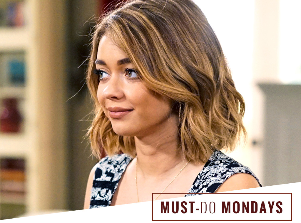 Uitzonderlijk Sarah Hyland's On-Set Hairstylist Uses This $8 Dry Shampoo | E! News HC49