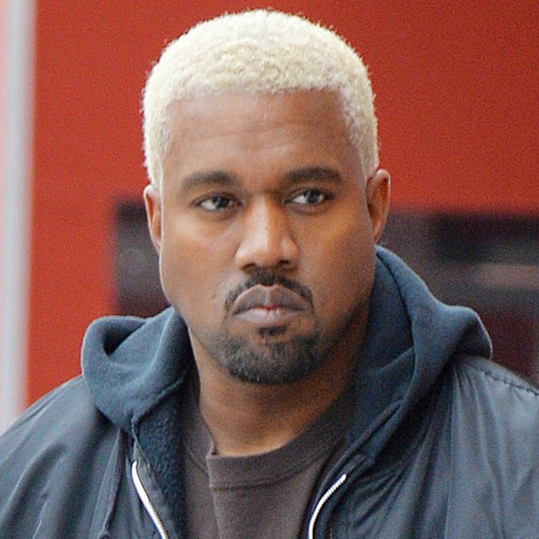 Kanye West Dyes Hair Platinum Blond During NYFW - E! Online