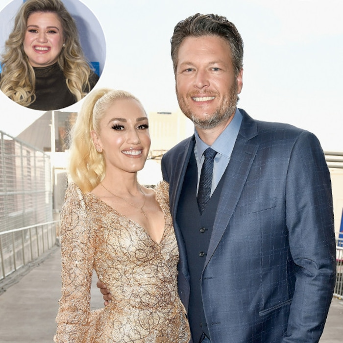 Kelly clarkson dishes on double date with blake shelton and gwen kelly clarkson dishes on double date with blake shelton and gwen stefani e news m4hsunfo