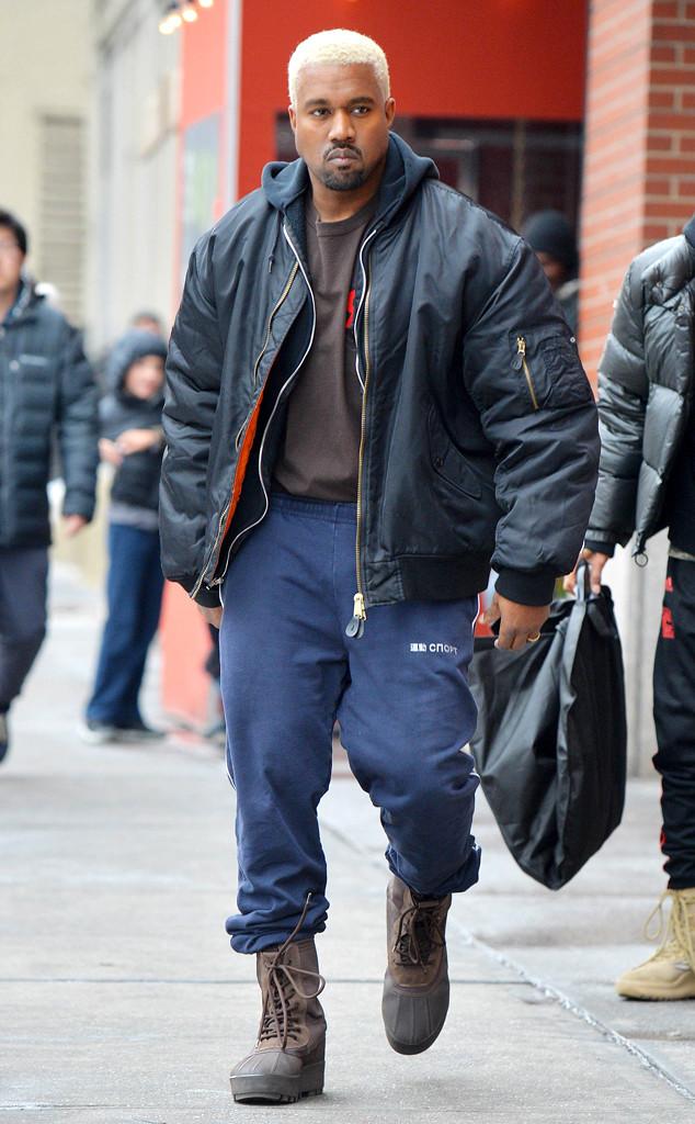 Kanye West Dyes Hair Platinum Blond, Debuts New Look ...