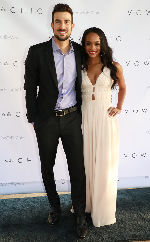 b912e3c964a Bachelorette s Rachel Lindsay Reveals Her and Bryan Abasolo s Wedding Month