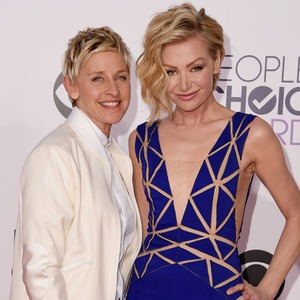 Ellen DeGeneres, Portia de Rossi, Peoples Choice Awards