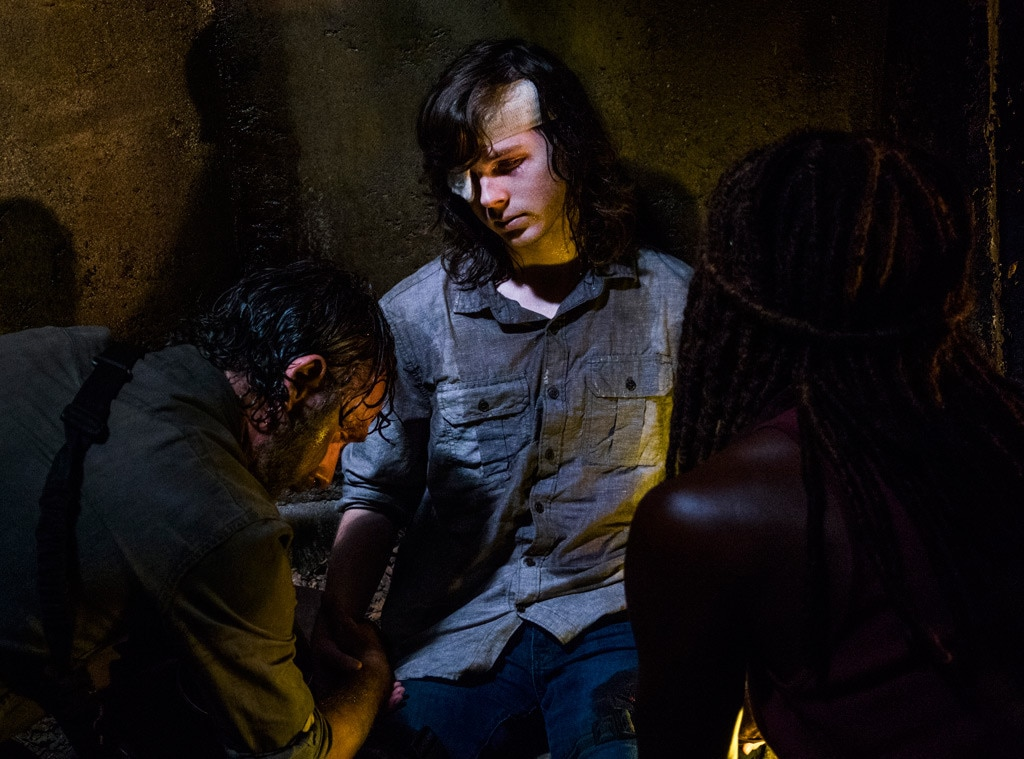 The Walking Dead Season 8, Chandler Riggs
