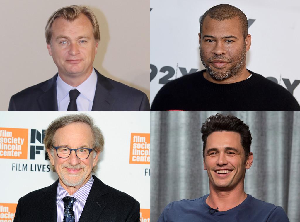 James Franco, Jordan Peele, Steven Spielberg, Christopher Nolan