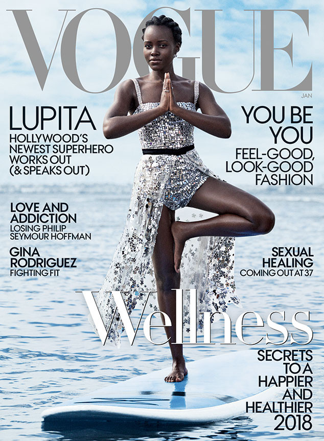 Lupita Nyong'o, Vogue, January 2018