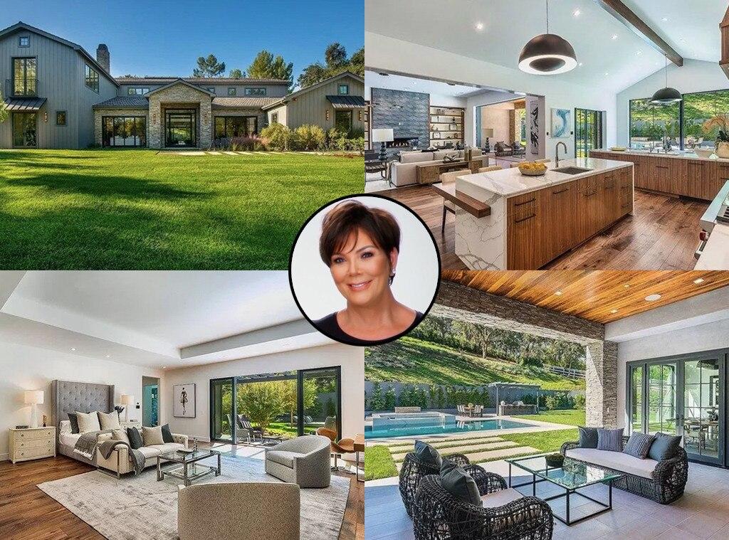 Exceptionnel Kris Jenner, Hidden Hills Home