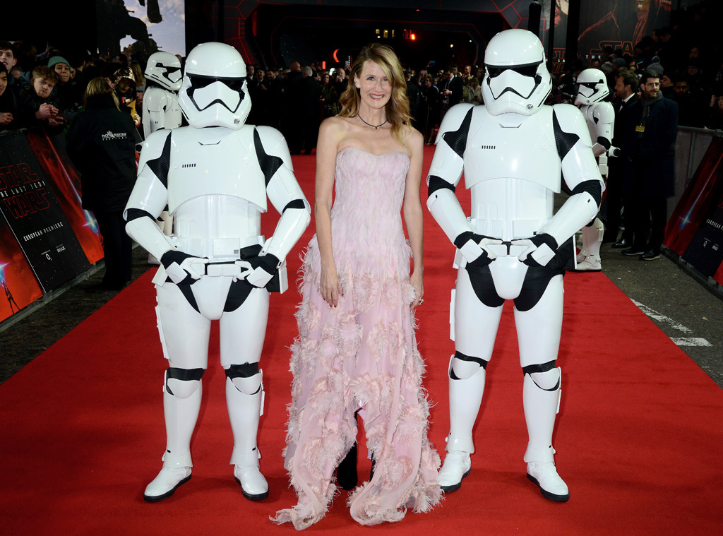Laura Dern, Star Wars Premiere