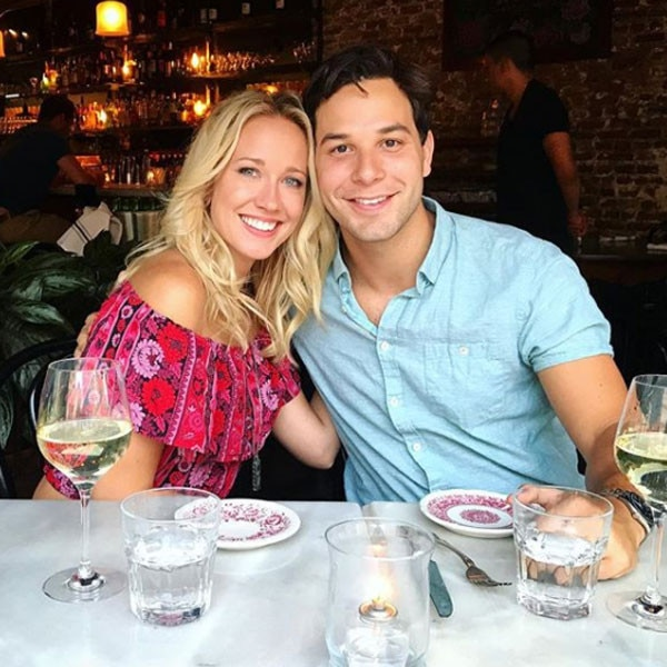 "First Wedding Anniversary -  The couple celebrated their first wedding anniversary in Sept. 2017 and sent love to each other on Instagram.    ""Happy first Anniversary to my sweet heart best friend laughing loving crying hugging kissing soul mate. Let's keep dancing together...@skylarastin,"" Anna wrote along with a photo of the couple from their wedding."
