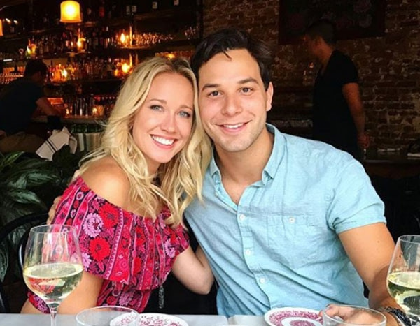 First Wedding Anniversary From Anna Camp And Skylar Astin