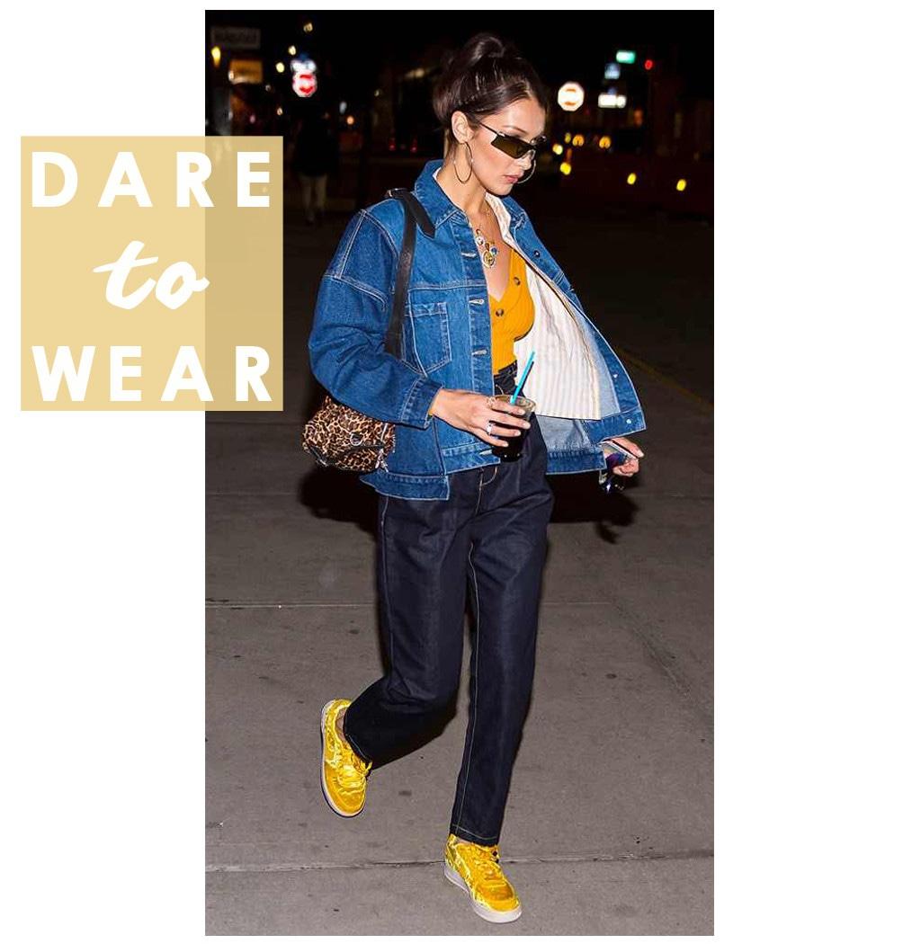 ESC: Bella Hadid, Dare to Wear