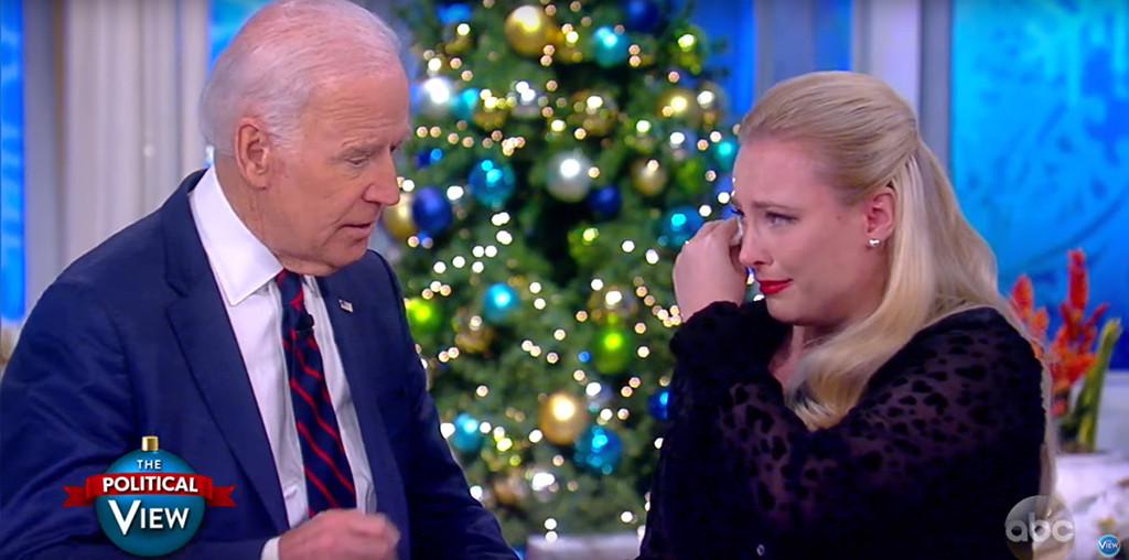 Joe Biden, Meghan McCain, The View