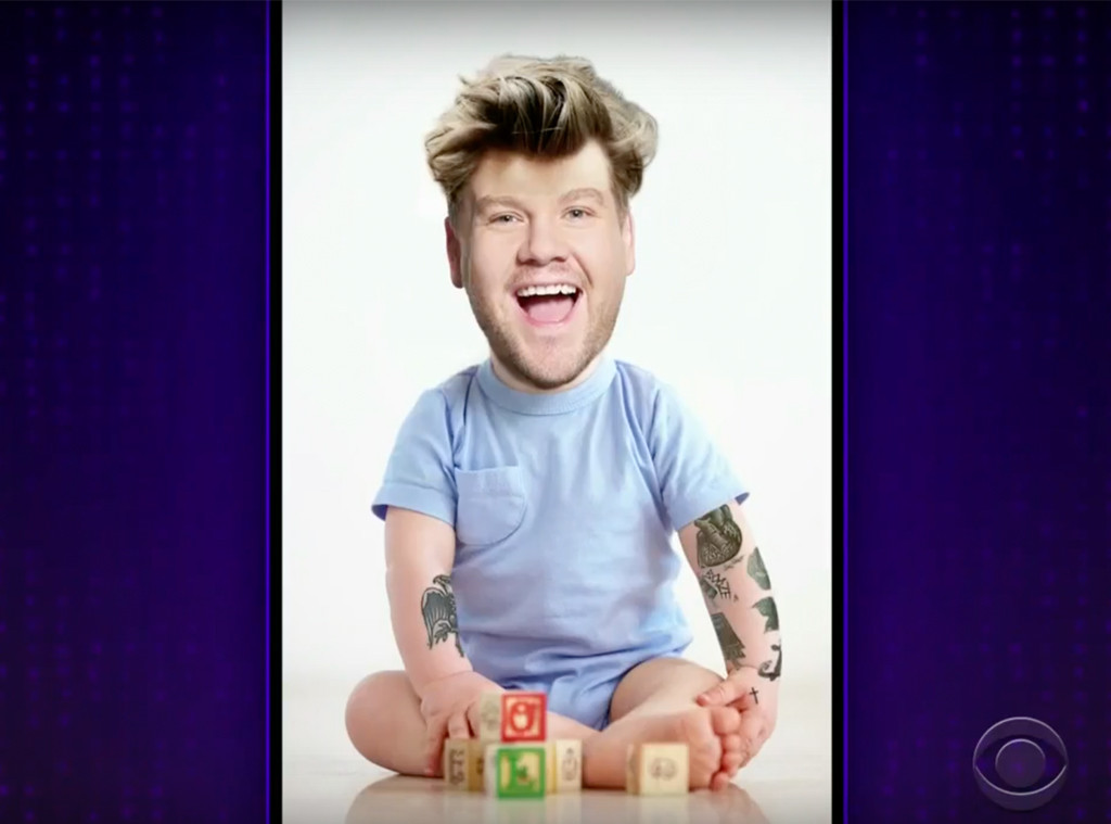Harry Styles, James Corden Baby