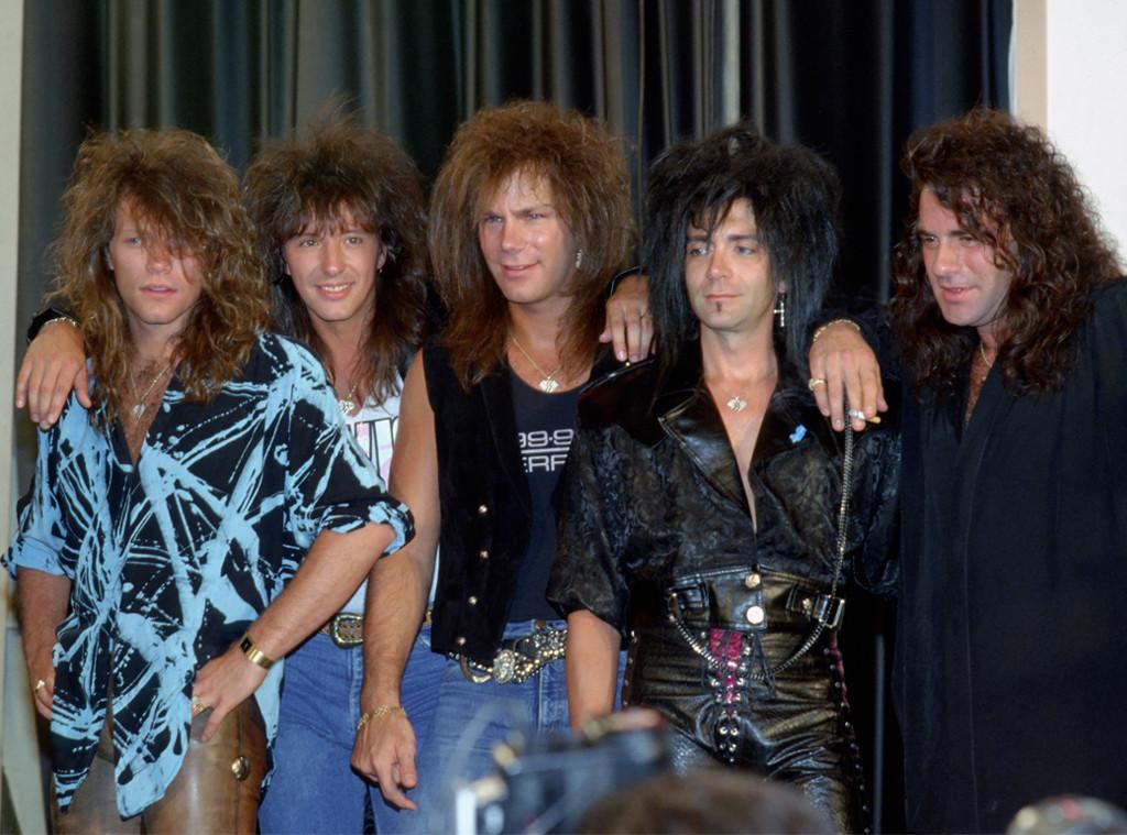 Bon Jovi Band, Bon Jovi, Richie Sambora, Dave Bryan, Alec John Such, Tico Torres