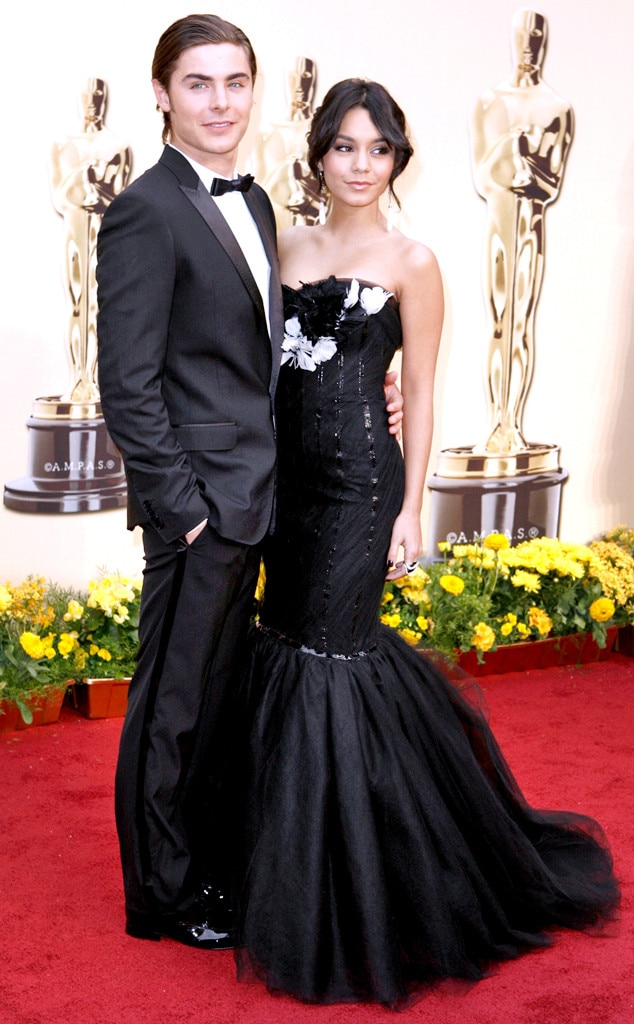 2009 Oscars From Remembering Zac Efron And Vanessa Hudgens Romance
