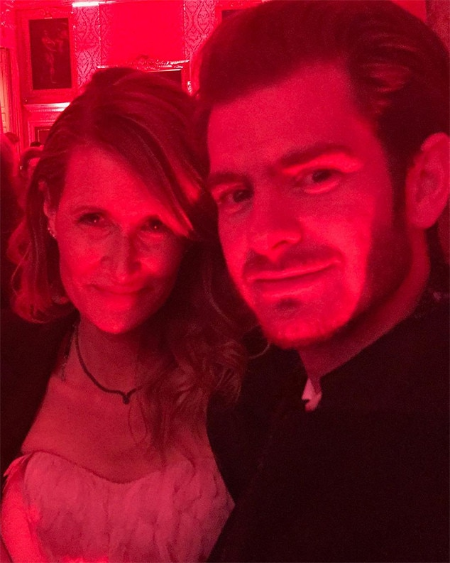 Laura Dern, Andrew Garfield, Star Wars: The Last Jedi, After-Party