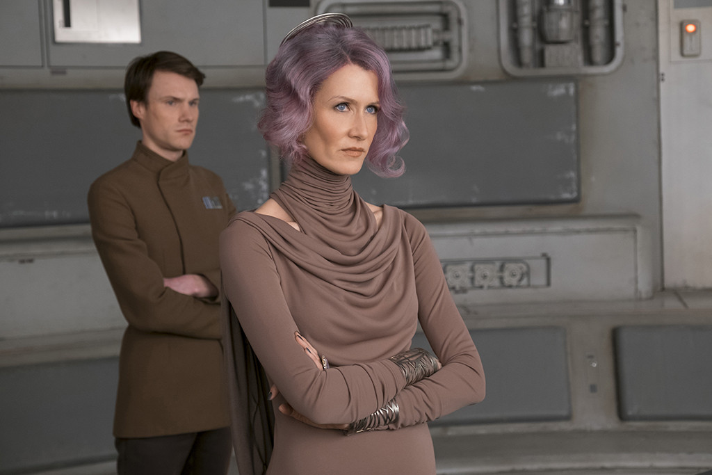 Laura Dern, Star Wars, The Last Jedi
