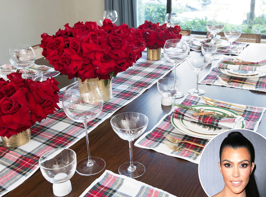 How To Recreate Kourtney Kardashian S Gorgeous Christmas