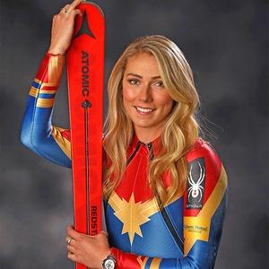 Alpine skier Mikaela Shiffrin, PyeongChang 2018 Olympic Winter Games