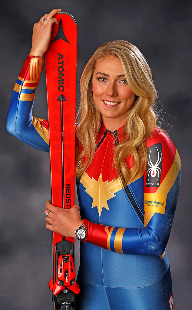 Alpine skier Mikaela Shiffrin, PyeongChang 2018 Olympic Winter Games