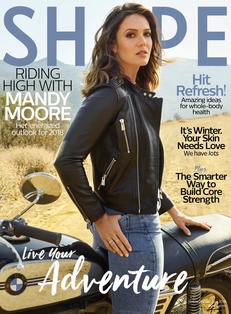 Mandy Moore Shape Magazine