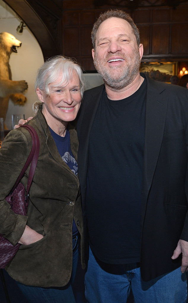 Glenn Close, Harvey Weinstein