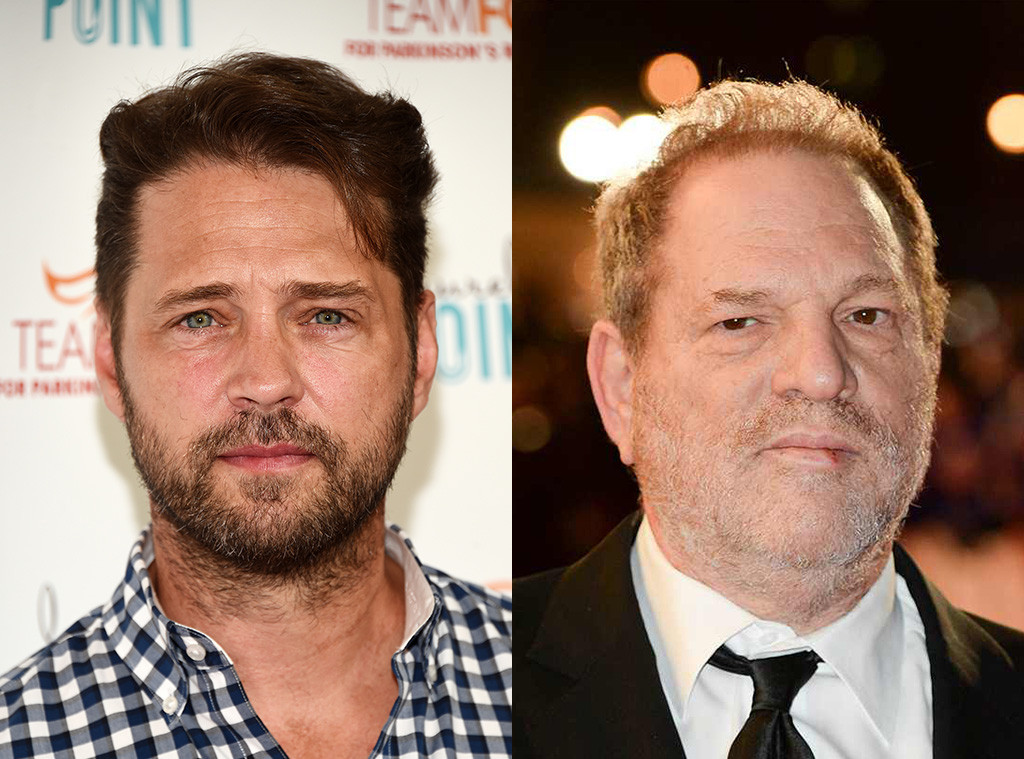 Harvey Weinstein, Jason Priestley