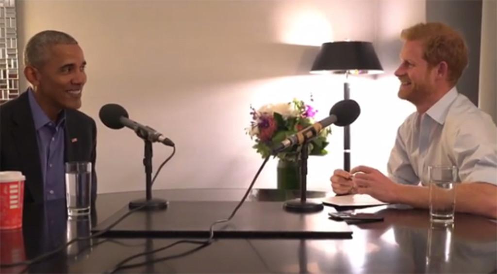 Barack Obama, Prince Harry, BBC Radio 4 Interview