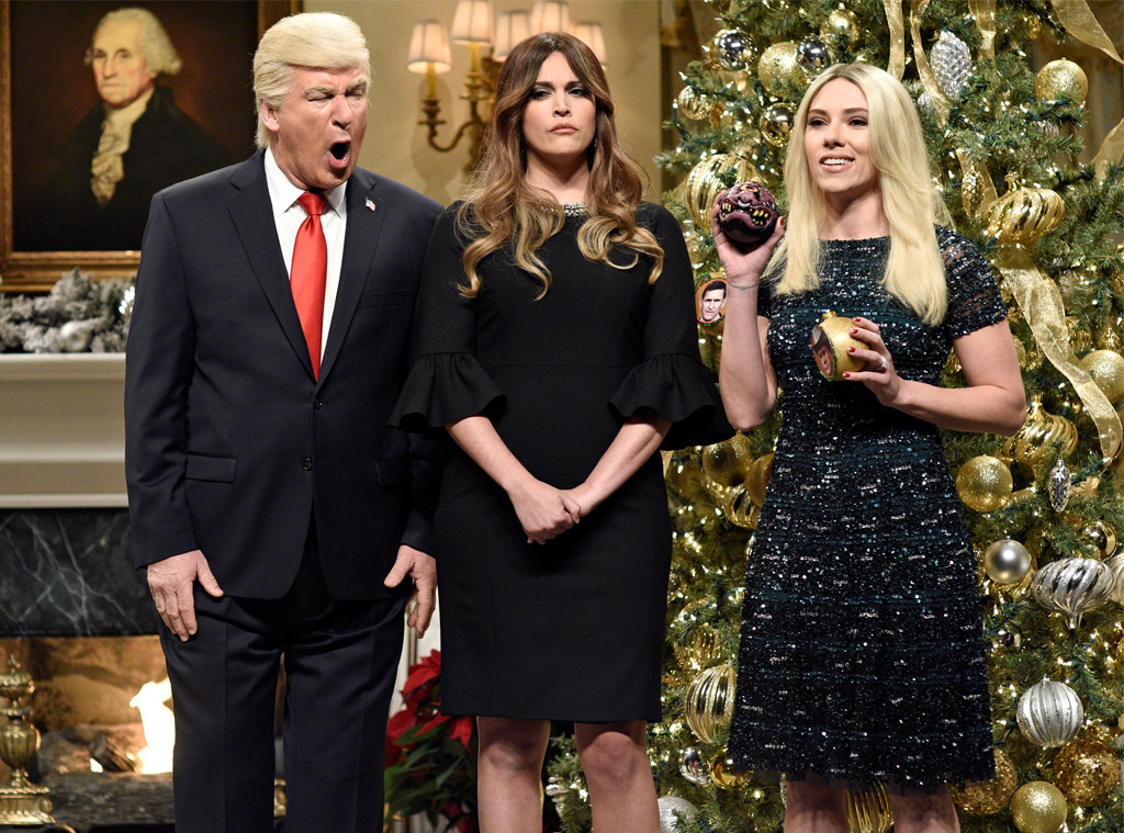 Scarlett Johansson, Alec Baldwin, Saturday Night Live