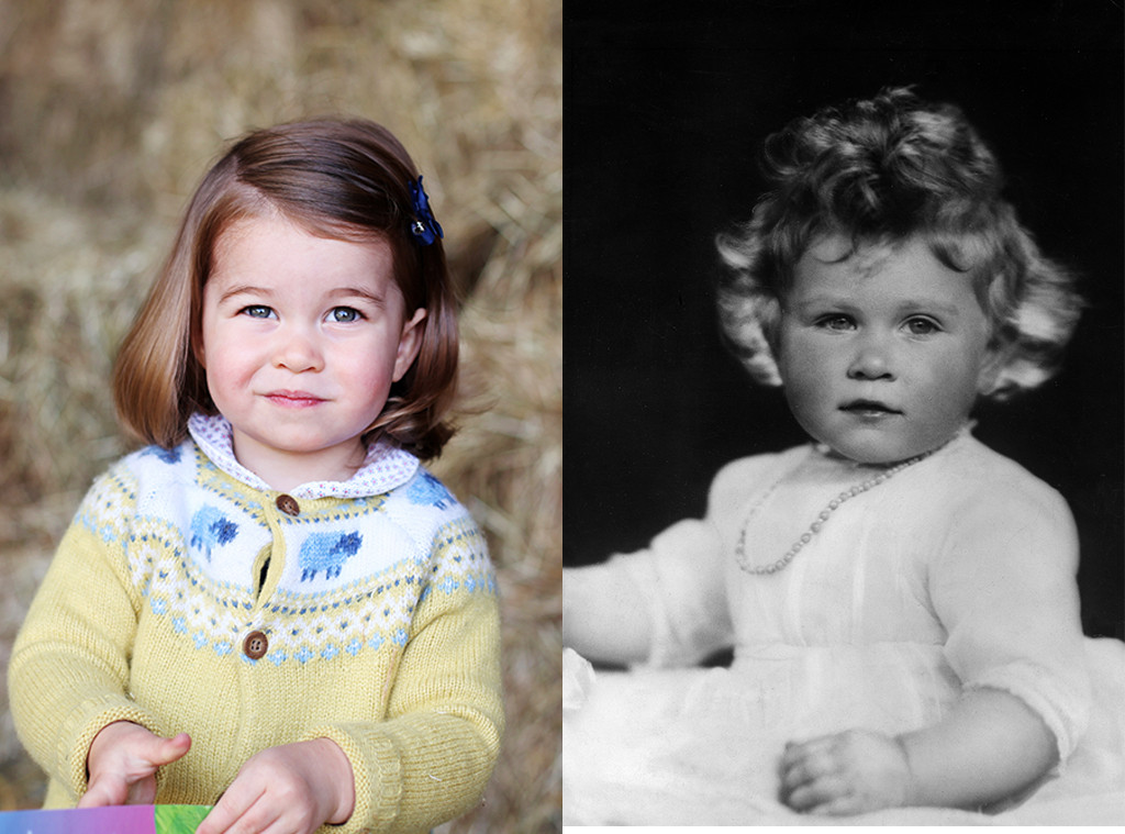 Princess Charlotte, Queen Elizabeth II