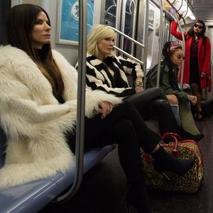 Ocean's 8, Sandra Bullock, Cate Blanchett, Rihanna, Mindy Kaling, Awkwafina, Helena Bonham Carter, Anne Hathaway, Sarah Paulson