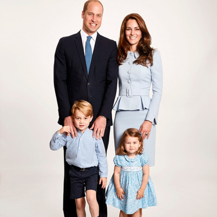 royal family christmas cards through the years e news - Royal Family Christmas Card