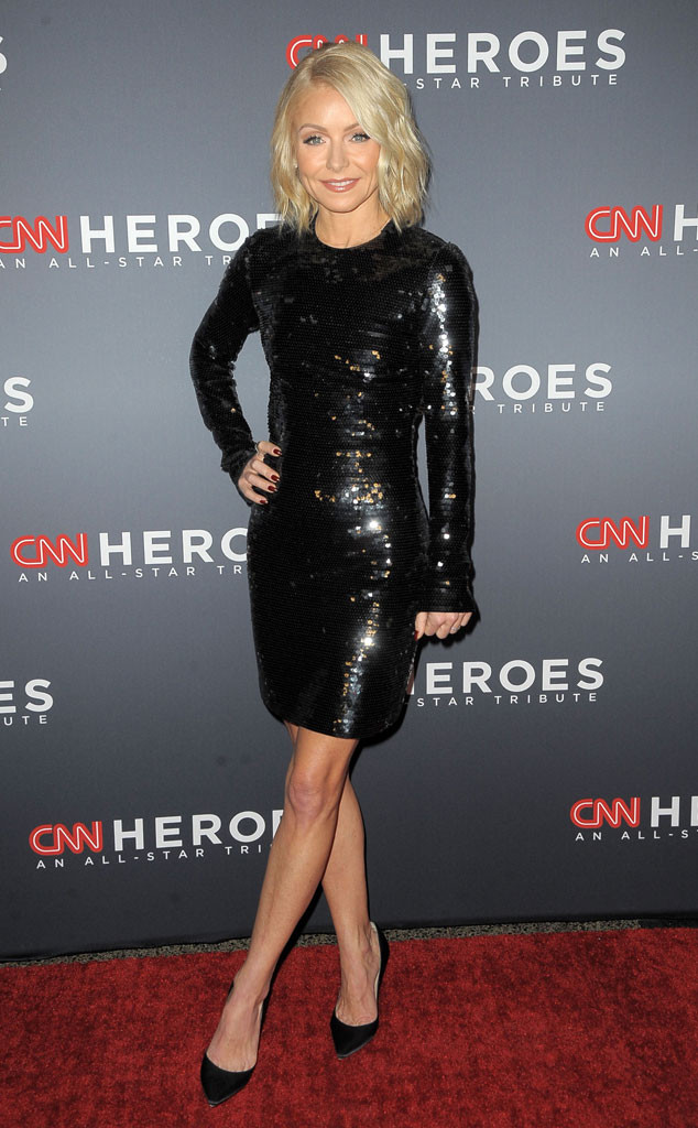 Kelly Ripa, CNN Heroes 2017