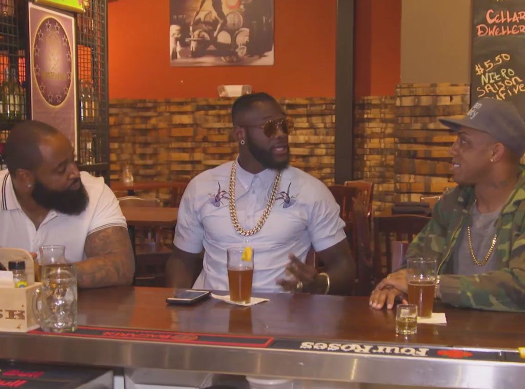 C.J. Mosley, Deontay Wilder, Andre Caldwell, WAGS Atlanta