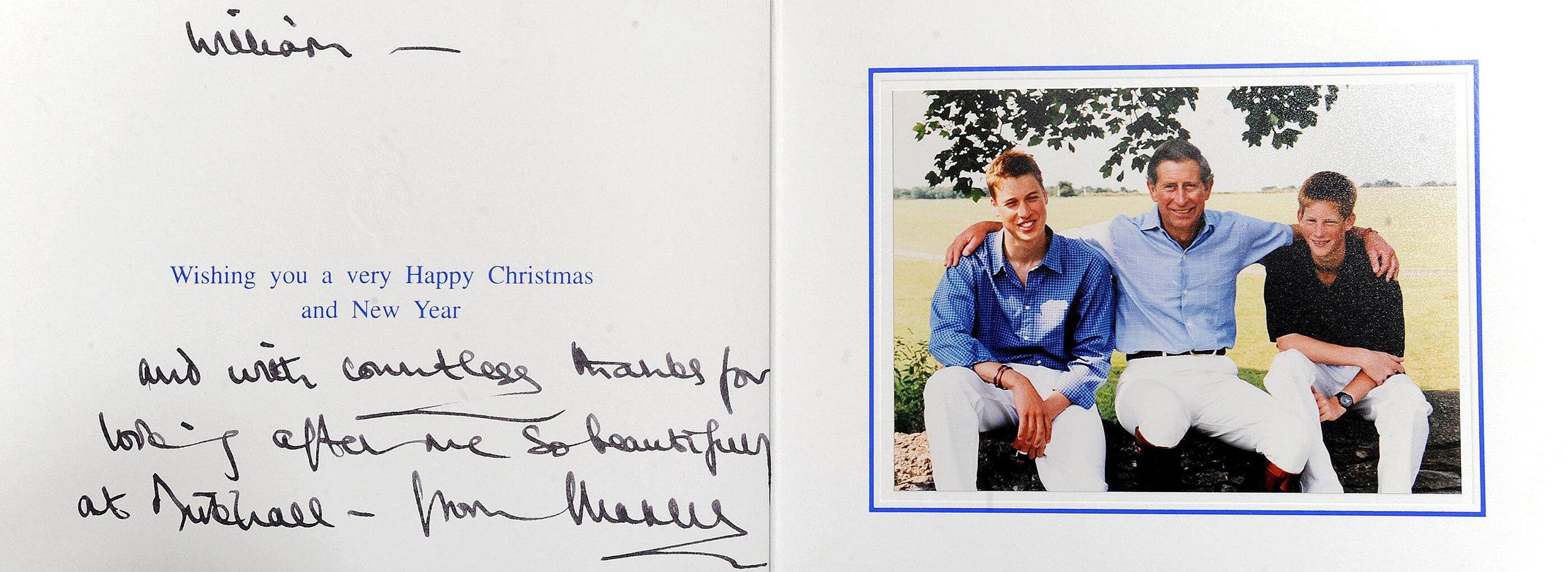 Prince William, Christmas, 1999