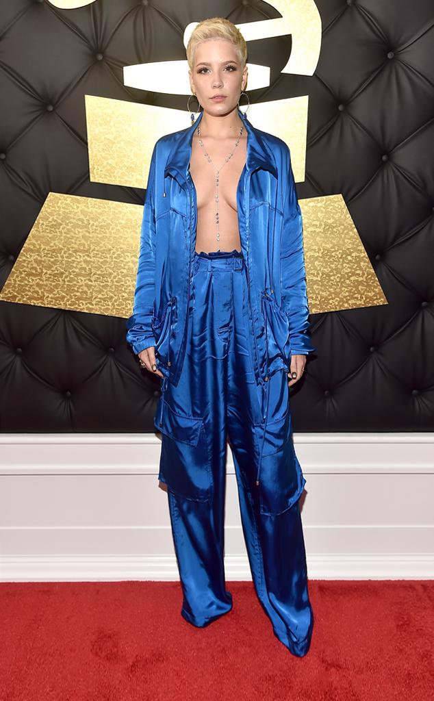 Halsey, 2017 Grammys, Arrivals