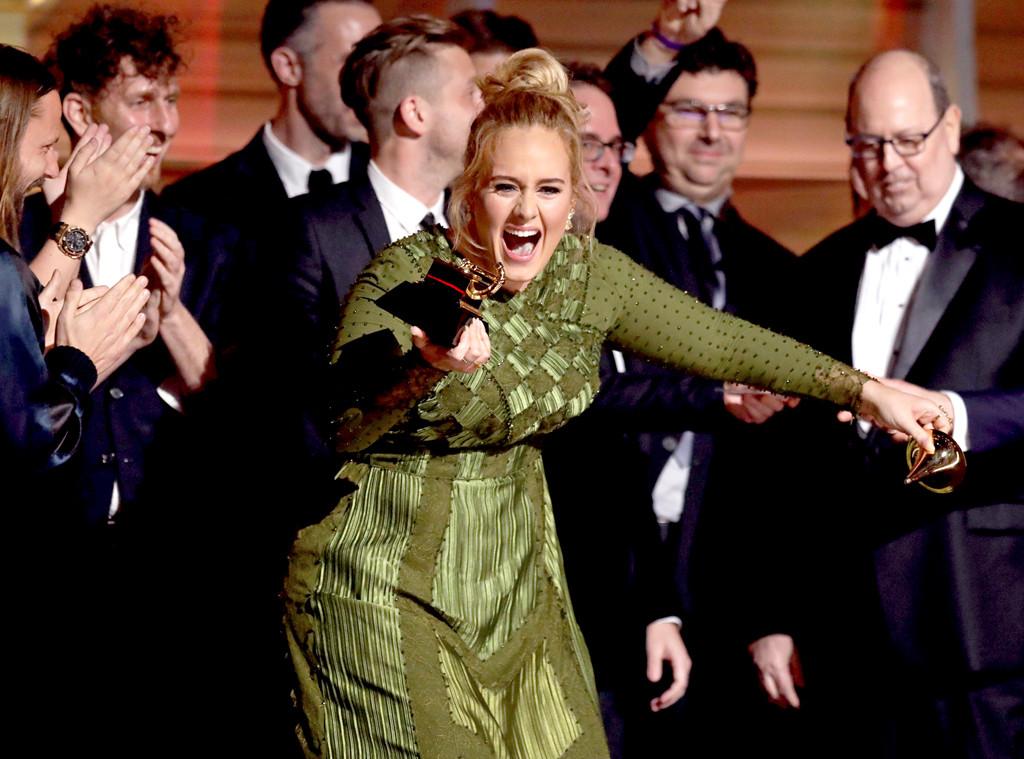 Adele, 2017 Grammys, Winners