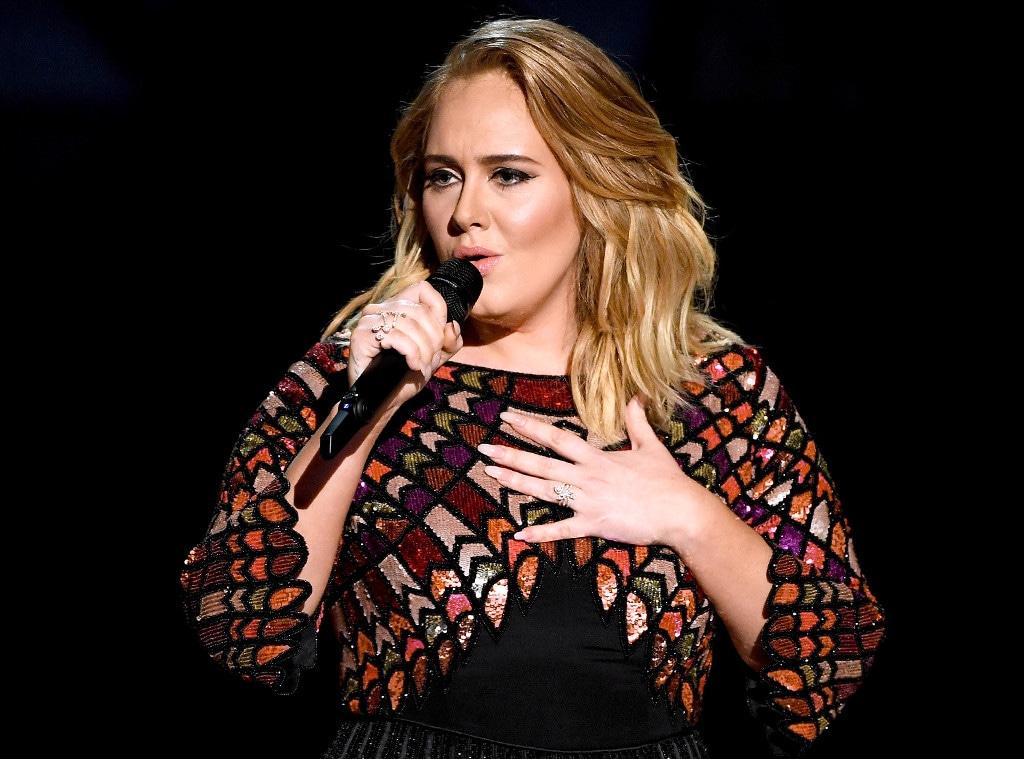 Adele, 2017 Grammys
