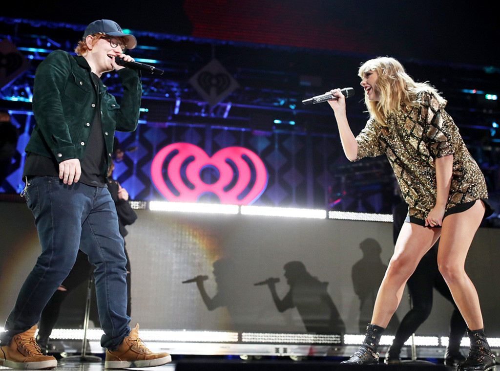Taylor Swift, Ed Sheeran, Inglewood Jingle Ball 2017