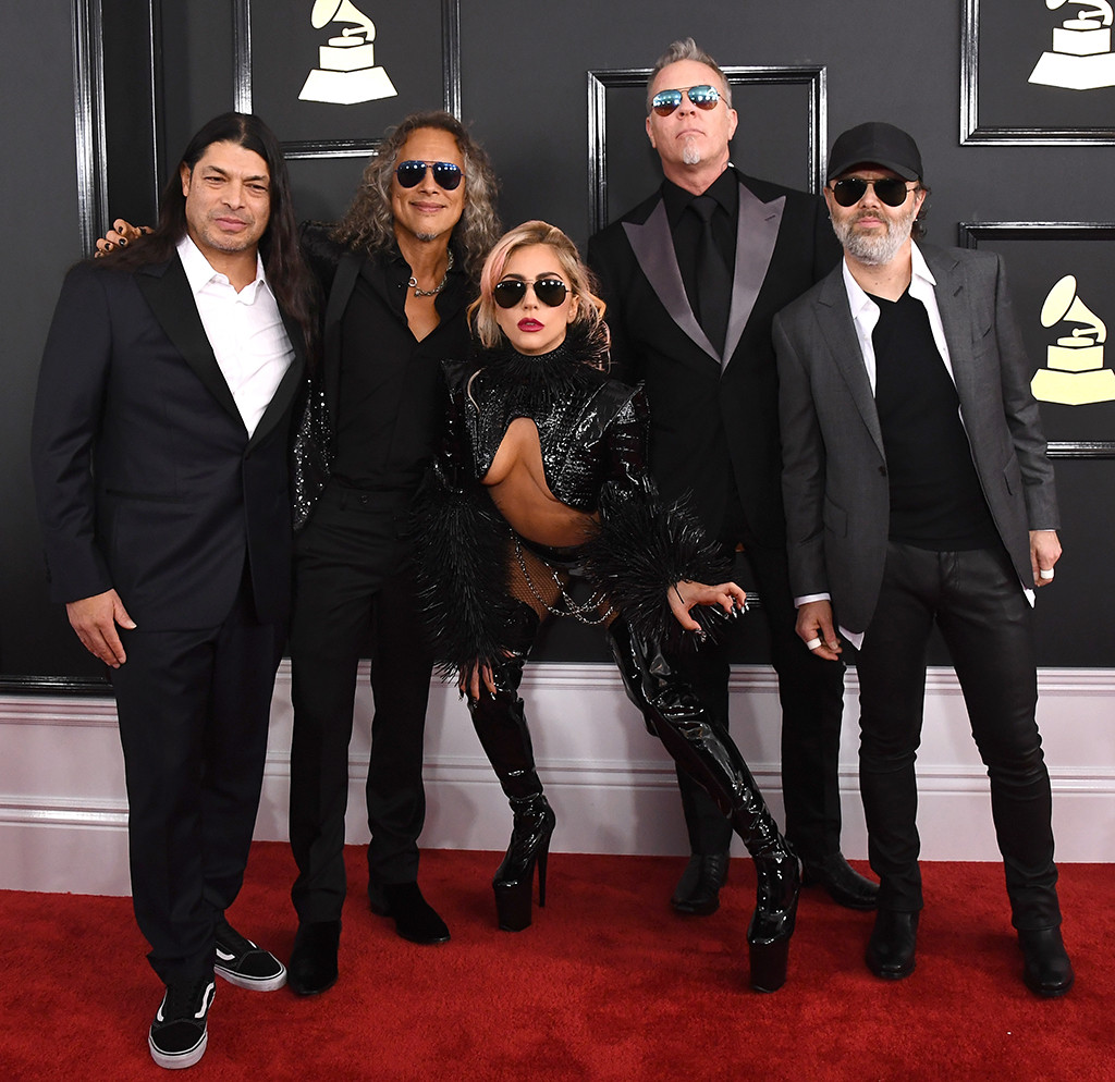 Lady Gaga, Metallica, 2017 Grammys, Groups