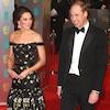 Prince William, Kate Middleton, 2017 BAFTA Awards