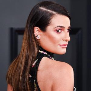 ESC: Lea Michele, 2017 Grammys