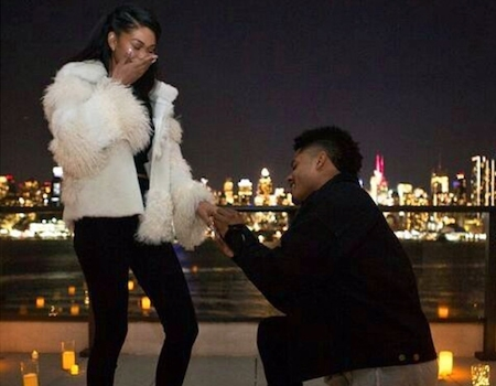Image result for Model Chanel Iman Marries New York Giants Wide Receiver Sterling Shepard