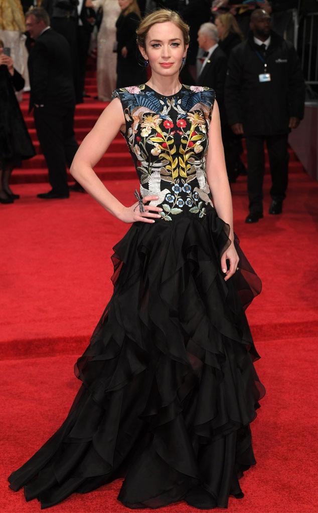 Emily Blunt, 2017 BAFTA Awards