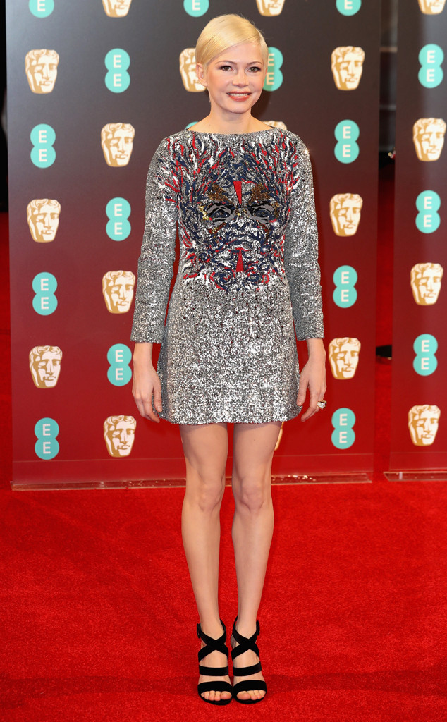 Michelle Williams, 2017 BAFTA Awards