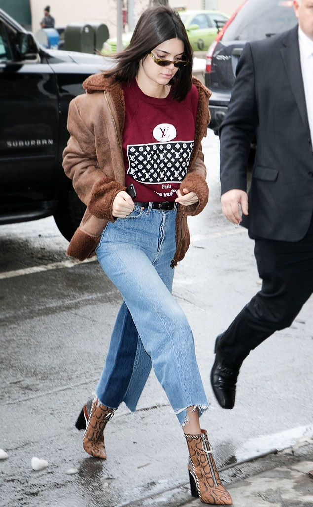 Snow Style From Kendall Jenner S Best Outfits From Fashion