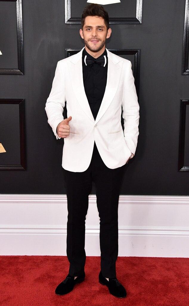 Thomas Rhett , 2017 Grammys, Arrivals